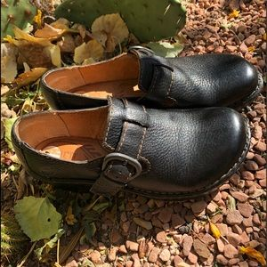 Born Leather Clogs